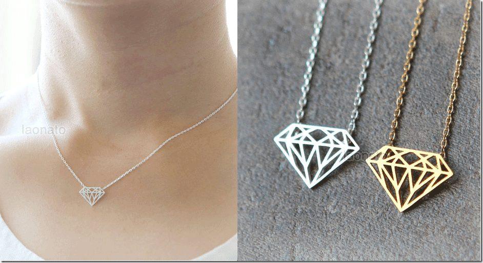 diamond-shape-pendant-necklace