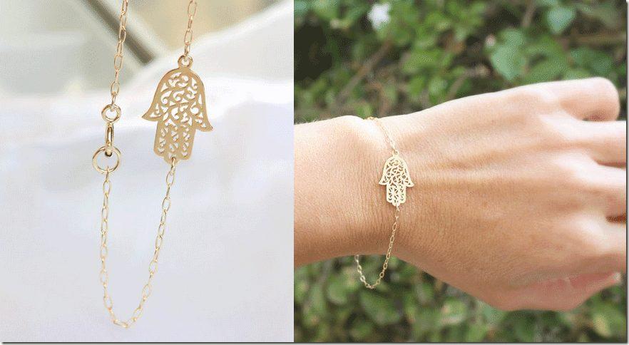 gold-hamsa-charm-bracelet
