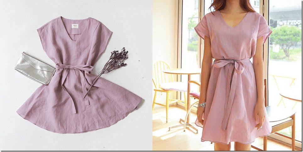 lilac-dress