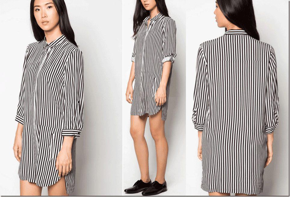long-sleeve-striped-shirt-dress