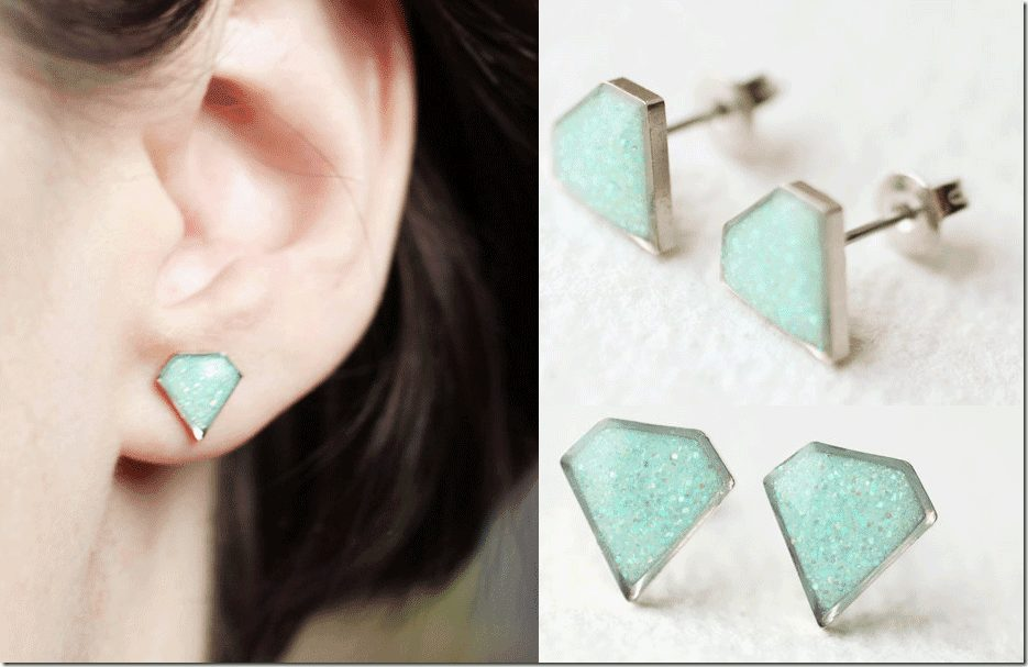 mint-diamond-shaped-earrings