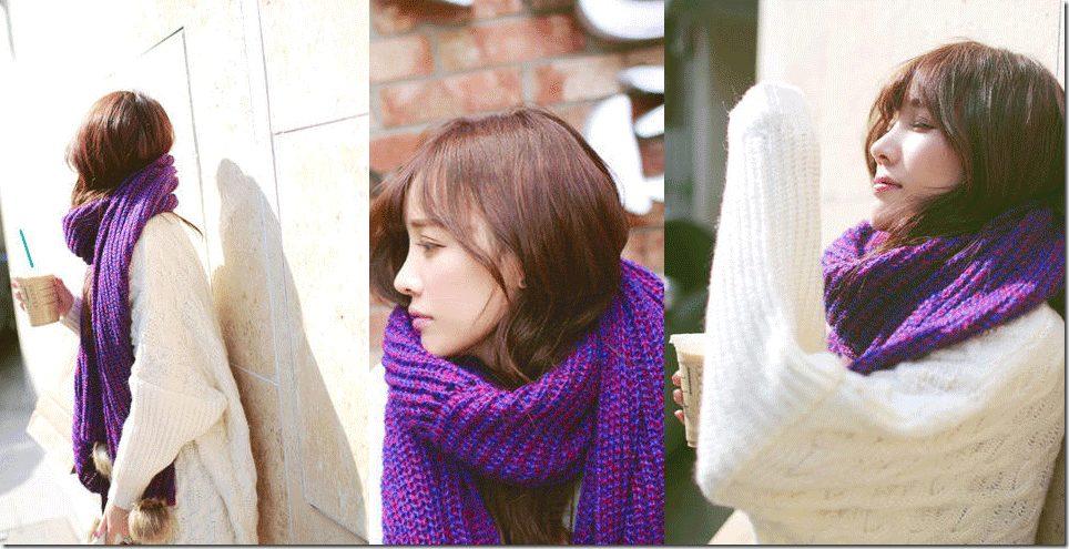 pompom-knit-scarf