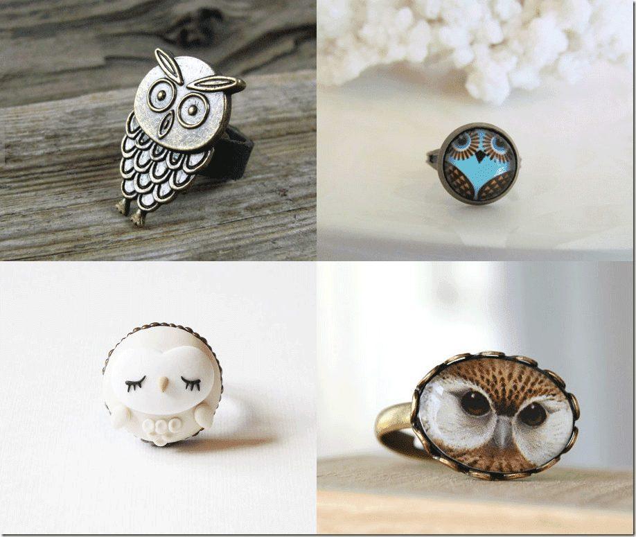 Hoot Owl Rings Fashion Inspiration