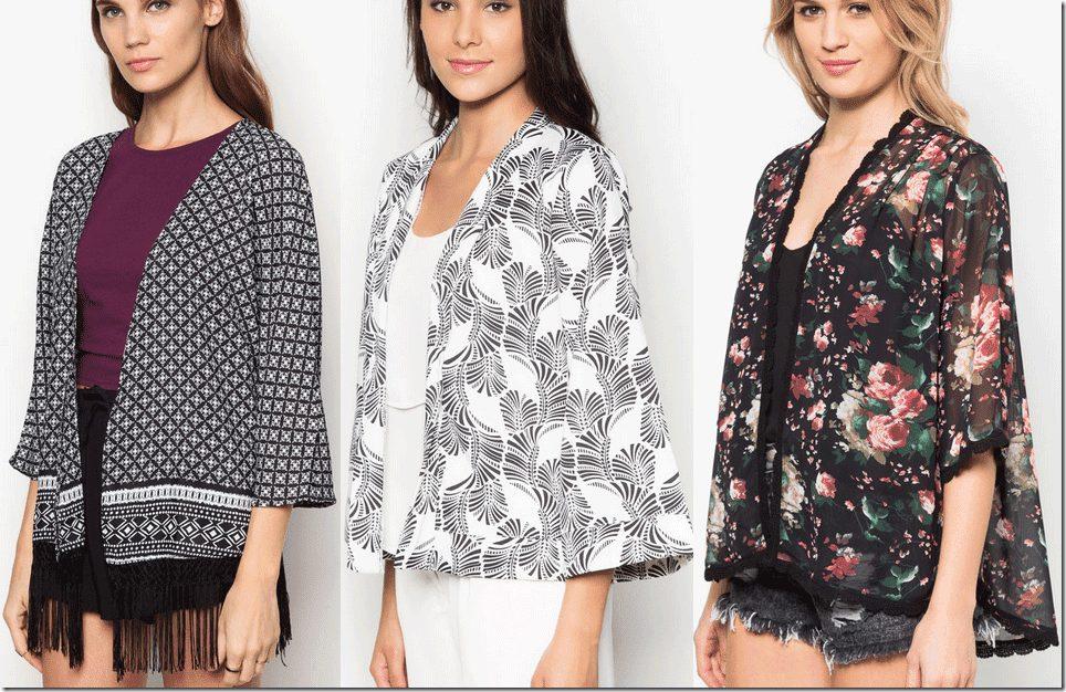 8 Gorgeous Kimono Style Outerwear Fashion Inspiration