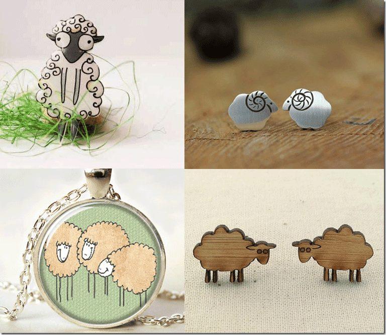 Sheep/Goat/Lamb Jewelry For CNY 2015 Fashion Inspiration