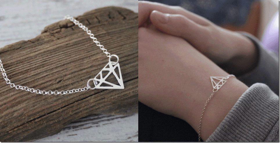 sterling-silver-diamond-shape-bracelet