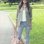 Fashionista NOW: 7 Ways To Wear Gingham Pants Fashion Inspiration
