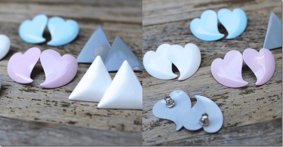 80s-vintage-heart-triangle-pastel-earrings