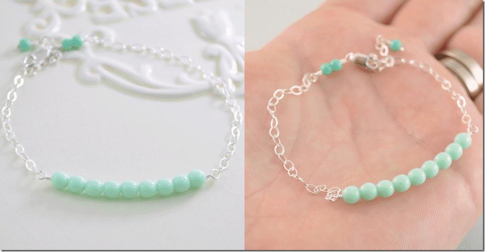 adjustable-pastel-mint-green-bracelet