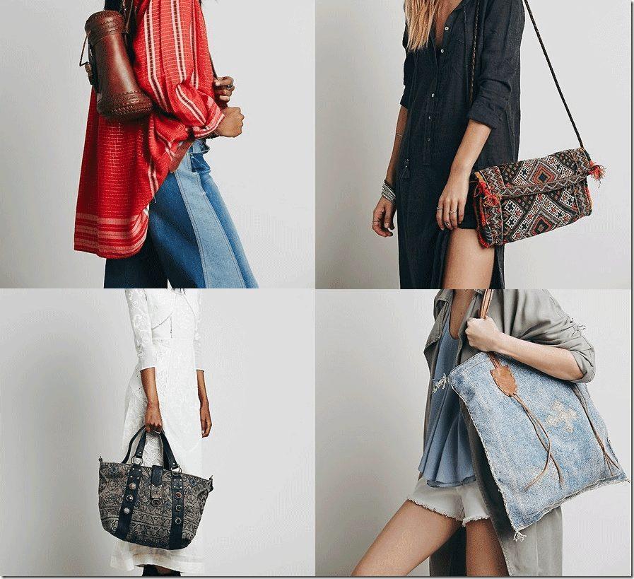 7 Dreamy Bohemian Bags Fashion Inspiration