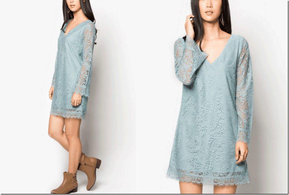 boho-lace-fringe-dress-long-bell-sleeves