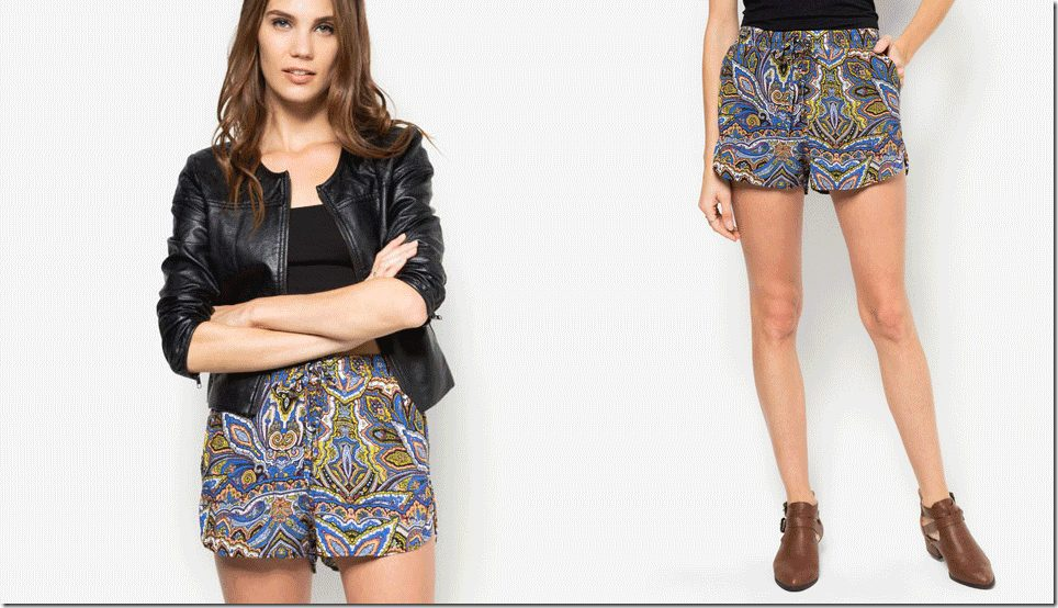 boho-paisley-shorts