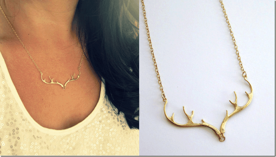 delicate-gold-deer-antler-necklace