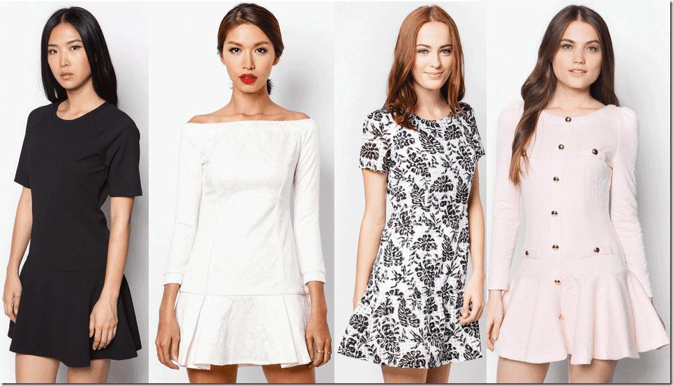 7 Minimalist Drop Waist Dresses For All Seasons Fashion Inspiration
