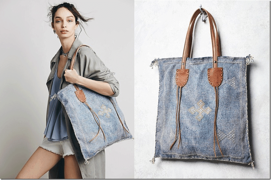 embroidered-boho-square-fabric-bag-leather-handle