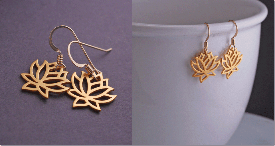 gold-lotus-flower-earrings
