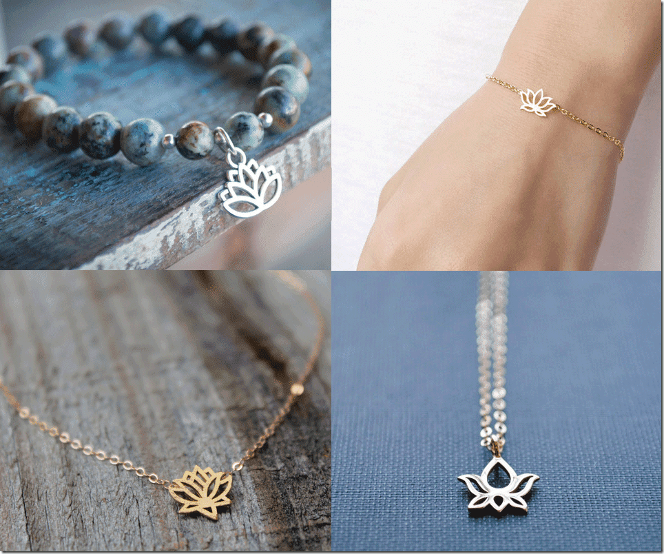 Sacred Lotus Blossom Jewelry Fashion Inspiration