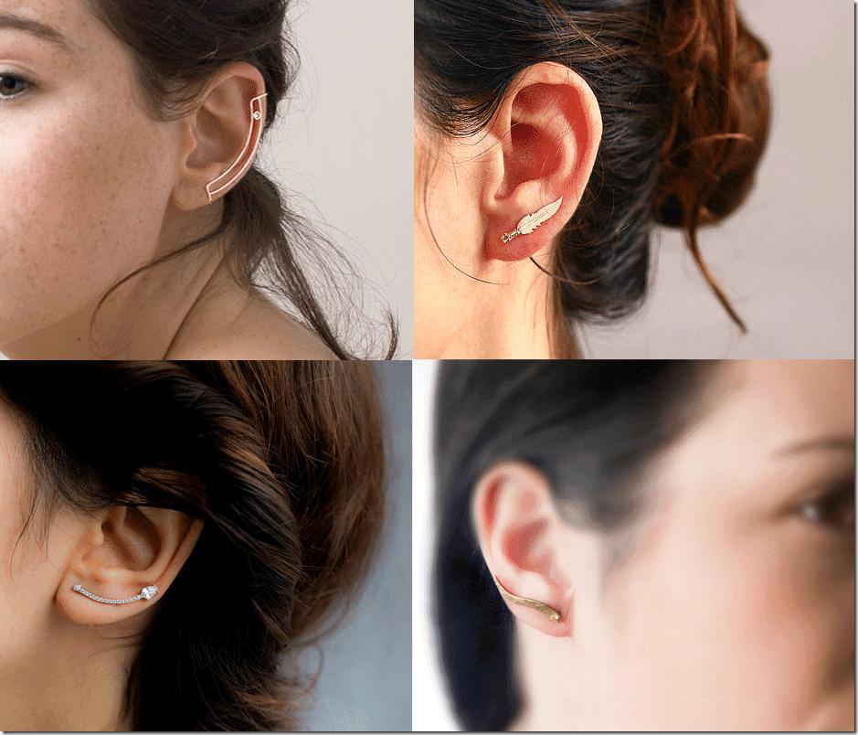 Minimalist Ear Cuff Pins Fashion Inspiration
