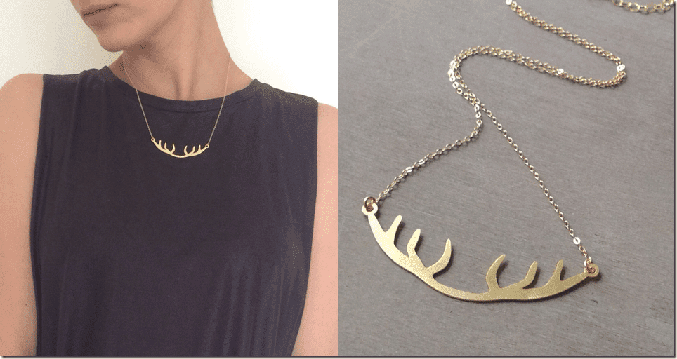 minimalist-gold-antler-necklace