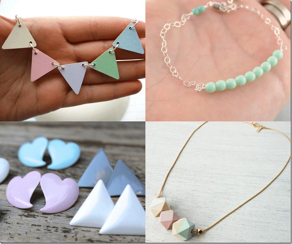 Sweet Pastel Jewelry Trend Fashion Inspiration