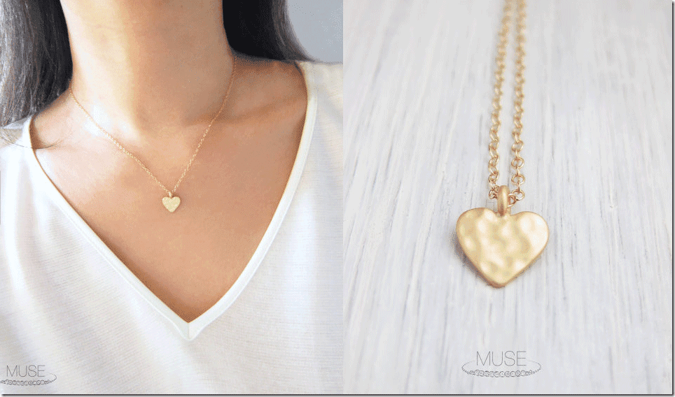 petite-gold-hammered-heart-necklace