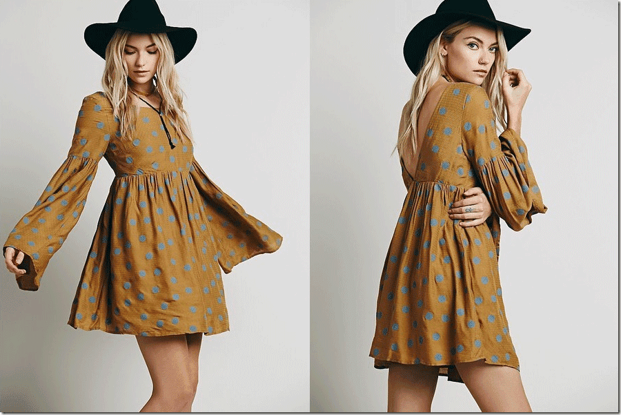 polka-dot-bell-sleeve-babydoll-dress