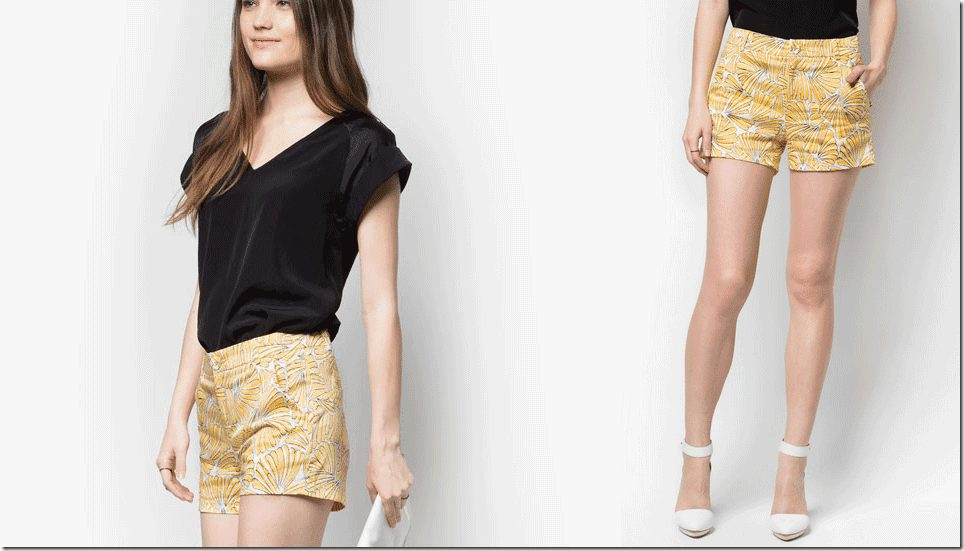 sunny-floral-shorts