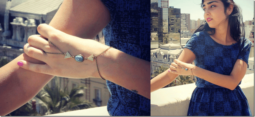triangle-turquoise-bracelet-ring-chain