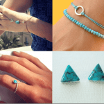 Fashionista NOW: Turquoise Jewelry Trend Fashion Inspiration