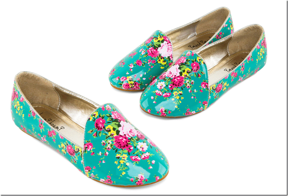 turquoise-floral-print-loafers