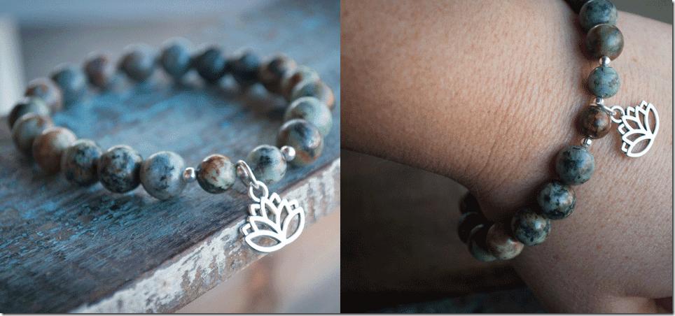 turquoise-gemstones-silver-lotus-bracelet