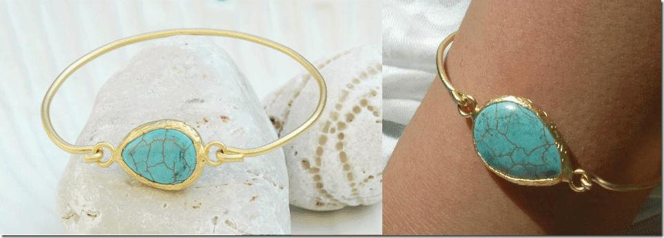 turquoise-gold-bangle-bracelet