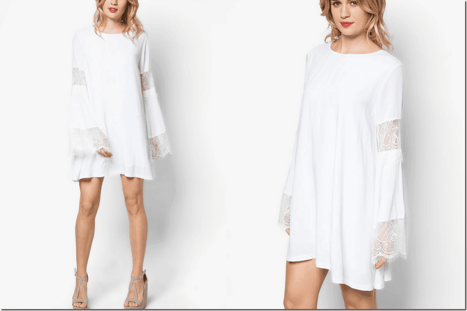 white-lace-bell-sleeve-dress