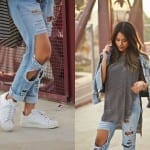 Fashionista NOW: How To Wear White Sneakers Fashion Inspiration