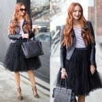 Fashionista NOW: 10 Ways To Toughen Up Tulle Skirts Fashion Inspiration