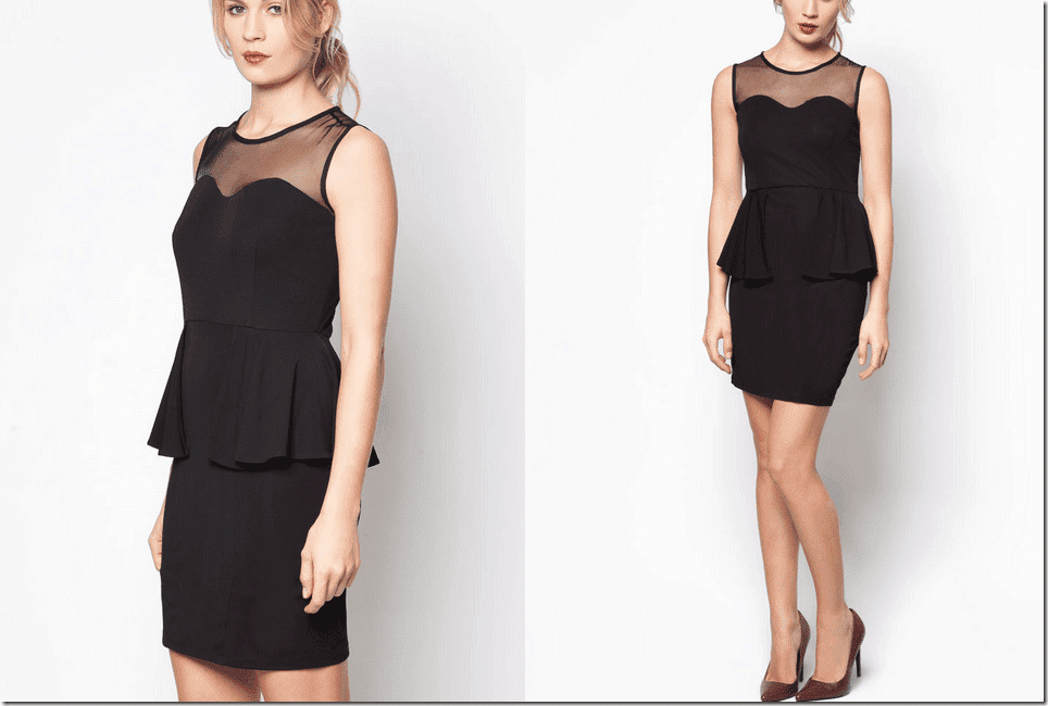 black-sweetheart-peplum-dress