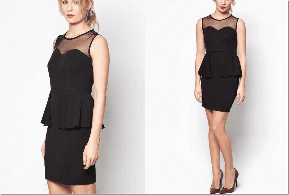 black-sweetheart-peplum-dress