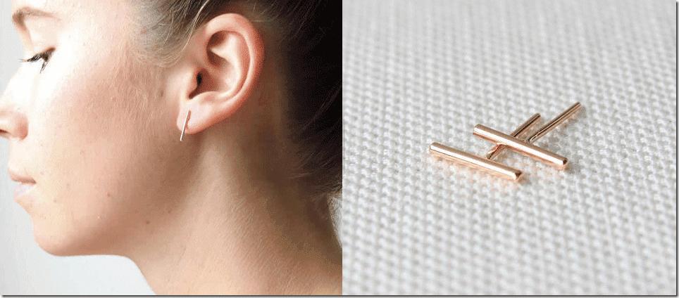 chic-gold-bar-stud-earrings