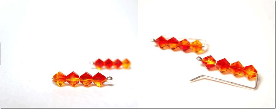 fiery-orange-ear-pin-earrings