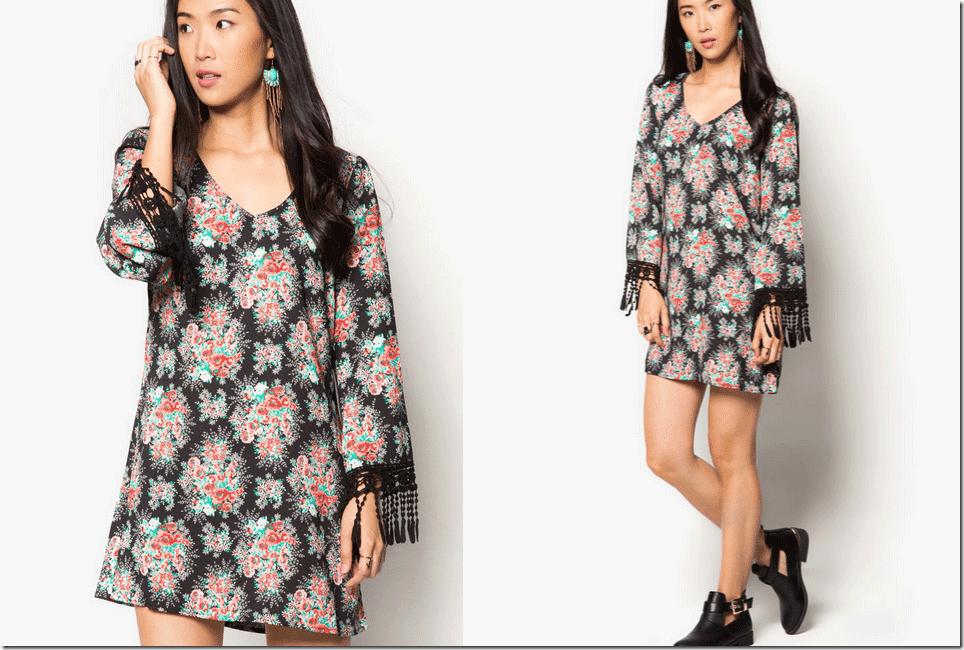 floral-shift-dress-crochet-fringe