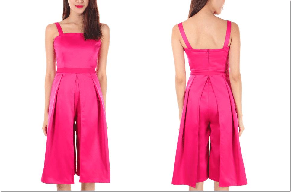hot-pink-bandeau-culotte-jumpsuit