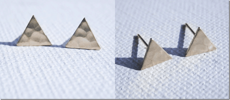 minimalist-brass-gold-triangle-earrings