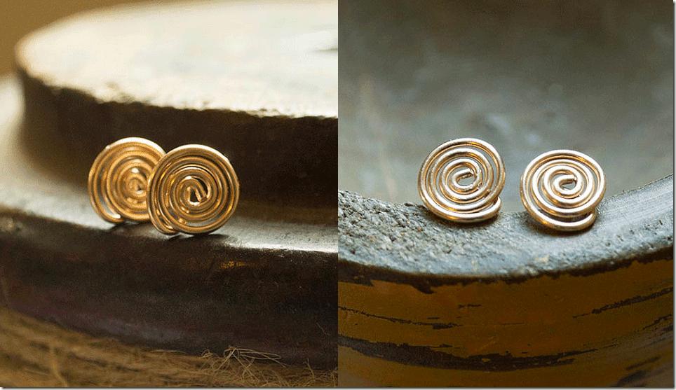 minimalist-gold-spiral-earrings