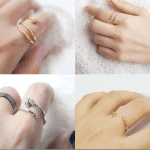 Fashionista NOW: Minimalist Twisted Nail Rings Fashion Inspiration
