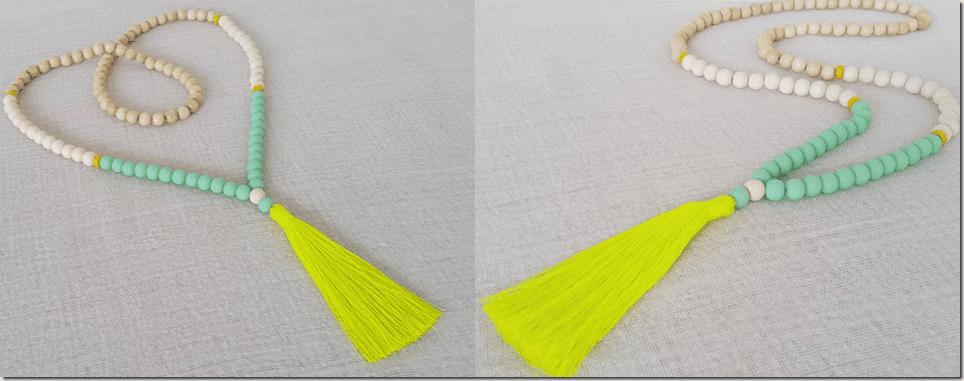 neon-yellow-wood-bead-tassel-necklace