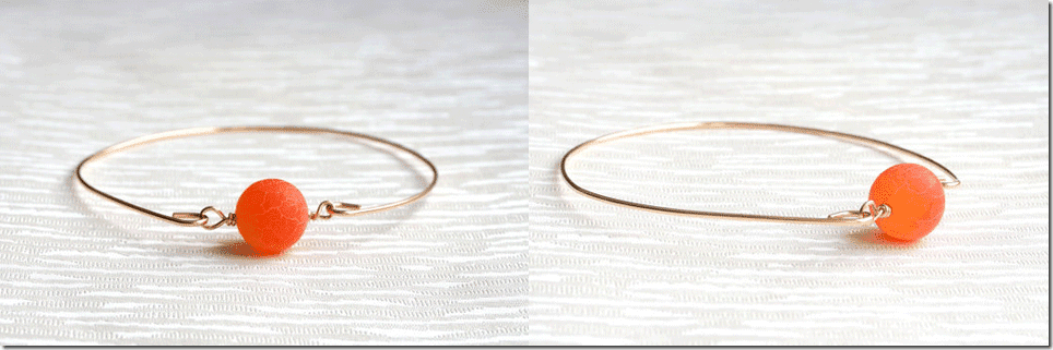 orange-agate-frosted-stone-bangle