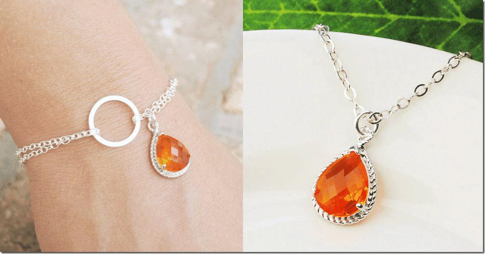 orange-infinity-bracelet