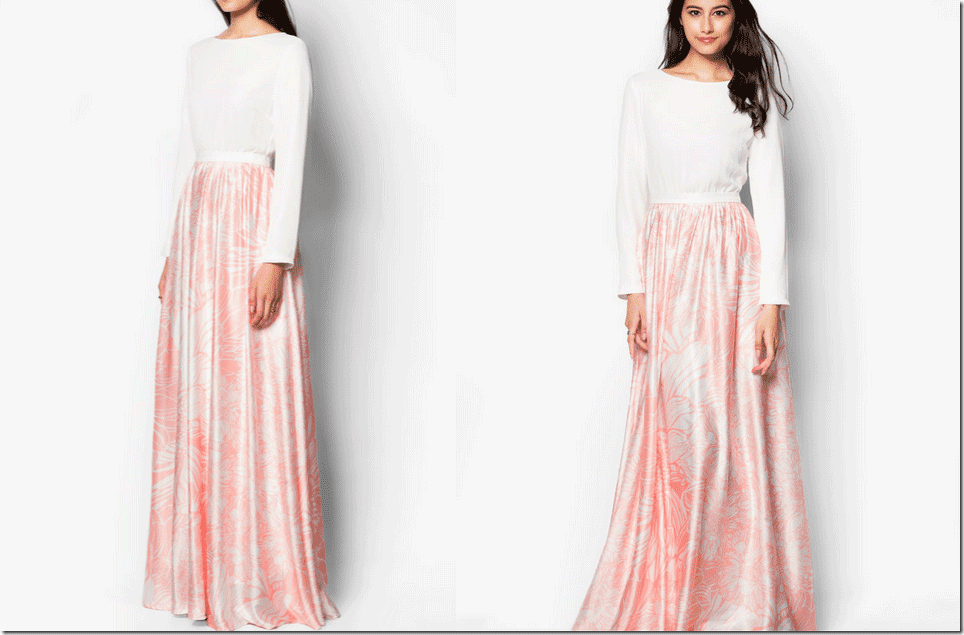 pale-pink-floral-fit-and-flare-maxi-dress