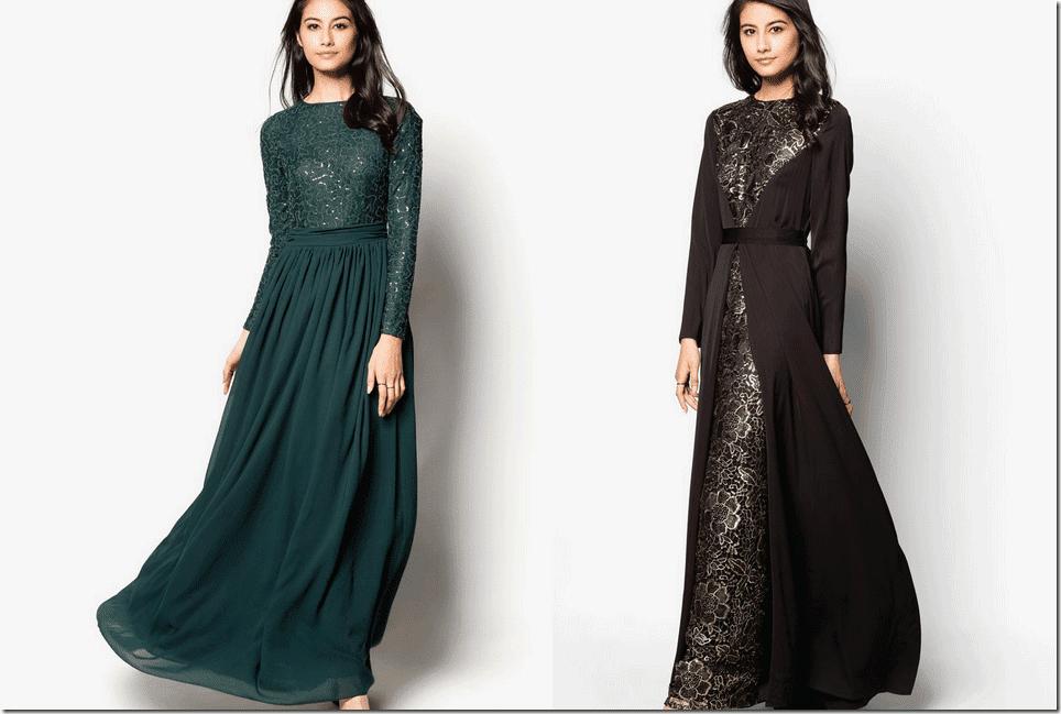 10 Elegant Flowy Maxi Dresses For Raya 2015 Fashion Inspiration
