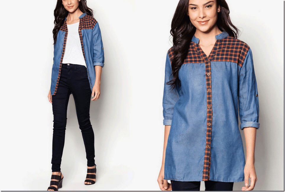 soft-blue-denim-plaid-blouse